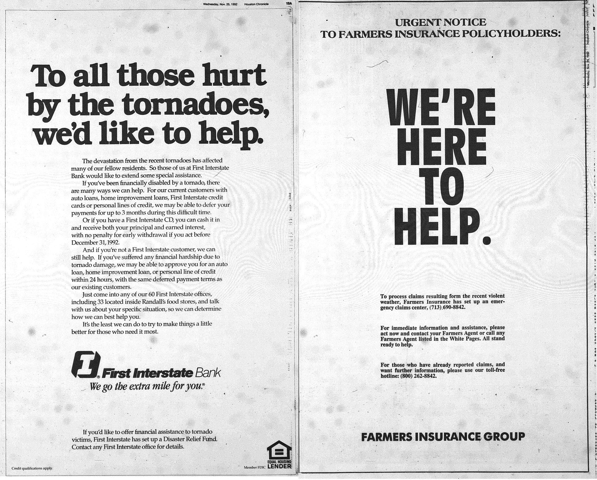 houston tornado outbreak november 1992 channelview