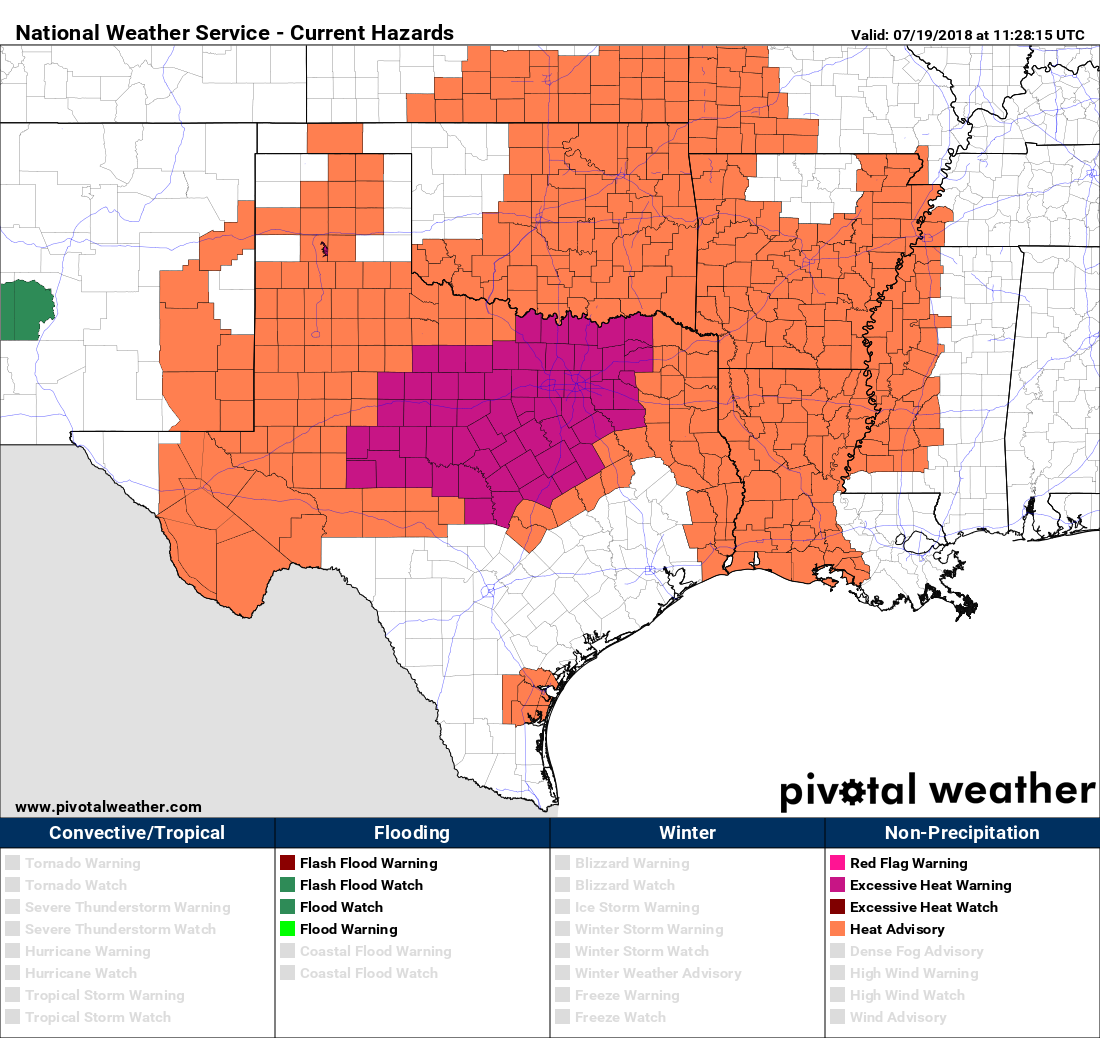 extreme heat moves into texas this weekend  u2013 space city