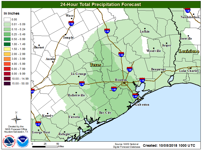 Thinking About Saturday Weather Map >> We Think We See Some Nicer Weather In The Distance Houston Space