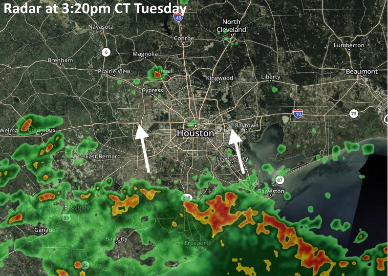 Heavy rain is coming to Houston, but the details are messy