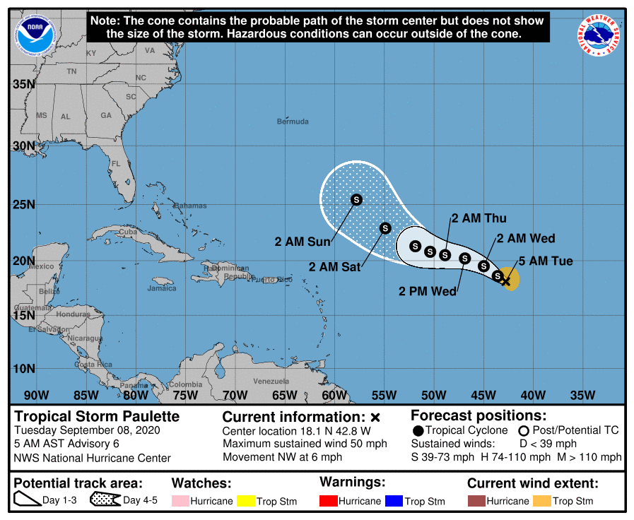 Tropical systems could develop in Gulf