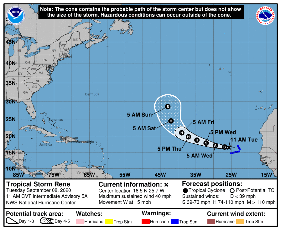 Hurricane center eyes system near Florida with 60% chance of development